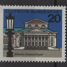 Germany 1964 -Scott  872 MNH- 20pf, National Theater Munich (13-321)