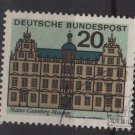 Germany 1964 - Scott 875 used - 20pf, Gutenberg Museum Mainz (13-325)