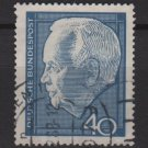 Germany 1964 - Scott 882 used - 40pf, Pres. Heinrich Lubke (13-336)