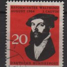 Germany 1964 - Scott 891 used - 20 pf, John Calvin(13-338)