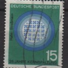 Germany 1964 - Scott 893 used - 15 pf, Cerenkov Radiation (13-340)