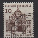 Germany 1964 - Scott 903 used - 10 pf, Dresden, Sachsen (13-351)