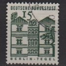 Germany 1964 - Scott 904 used - 15 pf, Berlin, Tegel Castle (5-171)