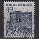 Germany 1964 - Scott  908 used - 40 pf, Trifels, Palatinate (13-354)