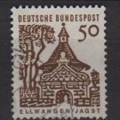 Germany 1964 - Scott  909 used - 50 pf, Ellwangen, Jagst (13-355)