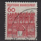 Germany 1964 - Scott  910 used -  60pf, Neubrandenburg, Treptow (13-356)