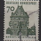 Germany 1964 - Scott  911 used - 70pf, Soest, Westfalen (13-357)