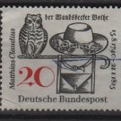 Germany 1965 - Scott  917 used - 20pf, Matthias Claudius illustration (13-359)