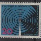 Germany 1965 - Scott  932 MNH - 20 pf, Radio Exhibition, TV tower (13-369)