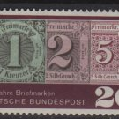 Germany 1965 - Scott  933 MH - 20 pf, Postage stamps 125th  (13-370)