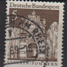 Germany 1966 - Scott  936 used - 5pf, Stettin, Pommern  (13-372)