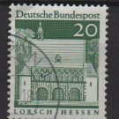 Germany 1966 - Scott  939 used - 20pf, Lorsch, Hessen  (13-375)