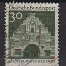 Germany 1966 - Scott  940 used - 30pf, Flensburg, Schleswig  (13-377)