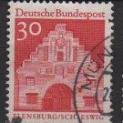 Germany 1966 - Scott  941 used - 30pf, Flensburg, Schleswig  (13-379)