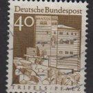 Germany 1966 - Scott  942 used - 40pf, Trifels, Plalz (5-193)