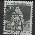 Germany 1966 - Scott  945 used - 70pf, Soest, Westfalen (13-384)