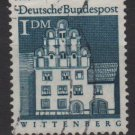 Germany 1966 - Scott  948 used - 1m, Wittenberg, Melanchthon (13-388)
