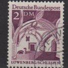 Germany 1966 - Scott  951 used - 2 m, Lowensberg, Schlesien (5-201)
