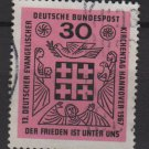 Germany 1967 - Scott  972 used - 30pf, Evangelical Synod (9-348)