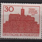 Germany 1967 - Scott 976 used - 30pf, Wartburg, Eisenach  (13-430)