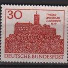 Germany 1967 - Scott 976 used - 30pf, Wartburg, Eisenach  (13-430)