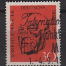 Germany 1968 - Scott 988 used - 30pf, Konrad Adenauer (13-438)