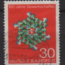 Germany 1968 - Scott 991 used - 30pf, German Trade Union Cent. (13-441)