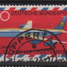Germany 1969 - Scott 994 used - 30pf, Airmail plane (13-446)