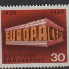 Germany 1969 - Scott 997 MNH - 30pf, Europa, Common design(13-454)