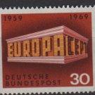 Germany 1969 - Scott 997 MNH - 30pf, Europa, Common design(13-454)