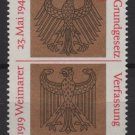 Germany 1969 - Scott 998 MNH - 30pf, Weimar Constitution (13-456)