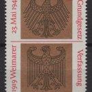 Germany 1969 - Scott 998 MNH - 30pf, Weimar Constitution (13-456)
