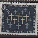 Germany 1969 - Scott 999 used - 30pf, War Graves Commission (13-457)
