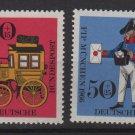 Germany 1966 - Scott  B416-B417 (2) MNH - FIP Munich (7-89)