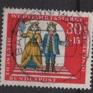 Germany 1966 - Scott  B420 used-  30+ 15pf,  The Princess & the Frog (13-472)