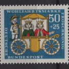Germany 1966 - Scott  B421 MH - 50 + 25pf,  The Princess & the Frog (13-475)