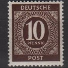 Germany 1946 - Scott 537 MNH - 10 pf, Numeral (13-510)