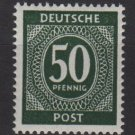Germany 1946 - Scott 551 MNH- 50 pf, Numeral (13-557)