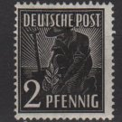 Germany 1947 - Scott 557 MH - 1 pf, Planting Olive (13-573)