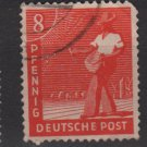 Germany 1947 - Scott 559 used - 8 pf, Sower (13-581)