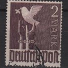 Germany 1947 - Scott 575 used - 2 m, Reaching for peace, dove  (13-607)