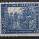 Germany 1947 - Scott 581 MH - 75 pf, Leipzig Fair  (13-615)