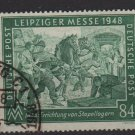Germany 1948 - Scott 583 used  - 84 pf, Leipzig Fair (13-621)