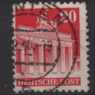 Germany 1948 -Scott 646 used- 20 pf, Brandenburg Gate Berlin (13-646)
