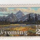 USA 1990 - Scott 2444 used - 25c, Wyoming Statehood  (d-159)