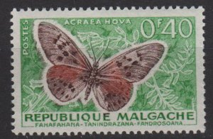 Malagasy 1960 - Scott 307 MH - 40c, Butterfly (H - 35)