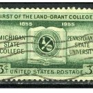 USA 1955 - Scott 1065 used - 3c, Land Grant Colleges   (H-335)