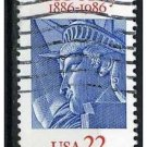 USA 1986 - Scott 2224 used - 22c, Statue of Liberty  (d - 138)