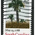 USA 1987 - Scott 2343 used - 25c, Palm, South Carolina  (d-150)