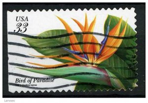 USA 1999 - Scott 3310 used - Tropical flower, Bird of Paradise   (Q-60)